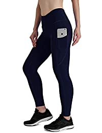 FIRM ABS Womens Yoga Pant Workout Running 4-Way Stretch Yoga Legging Out Pocket