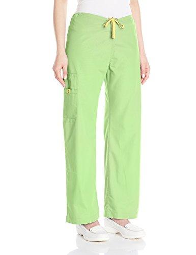 WonderWink Women's Origins Sierra Scrub Pant, Green Apple, XX-Large/Tall