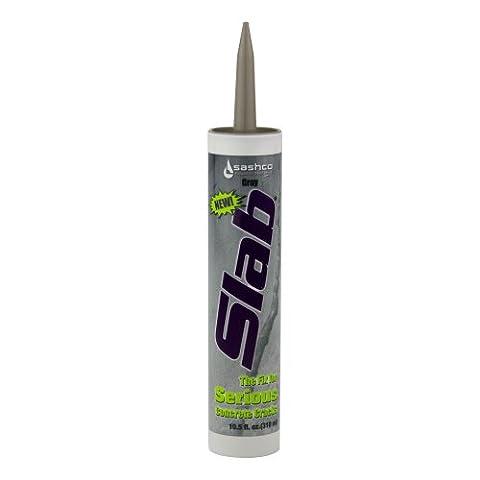 Sashco Slab Concrete Crack Repair Sealant, 10.5 oz Cartridge, Gray (Pack of 1) (Concrete Slump)