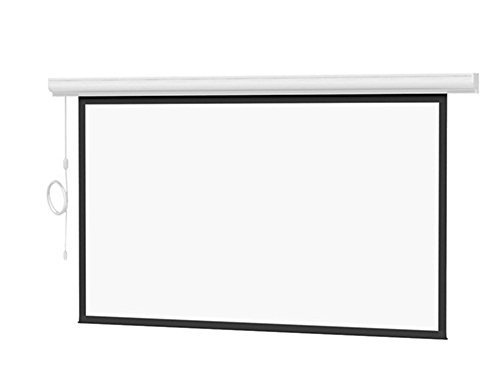 - Da-Lite Designer Contour Electrol with Built-in Infrared Remote - Projection Screen (Motorized) - 1:1 - Matte White - White