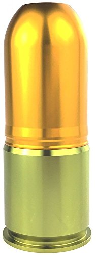 Aluminum CO2 Gas Paintball Shower for Airsoft - Gold (Airsoft Spring Grenade Launcher)