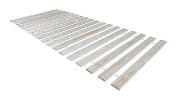 Rollrost Lattenrost Rolllattenrost 90 x 200 Kiefer Massivholz 13 Latten Bett