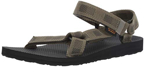 Teva Men's M Original Universal Sandal, raki Burnt Olive, 14 Medium US