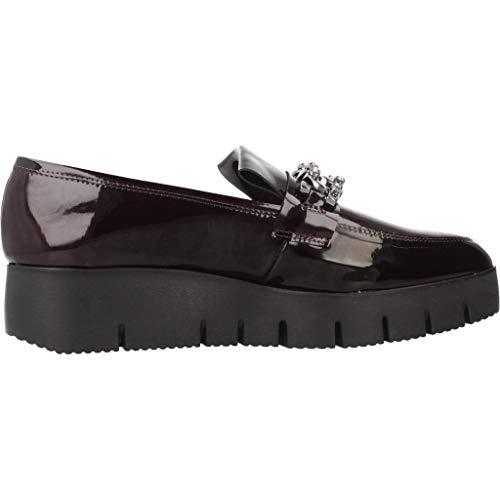 Mocasines para Mujer, Color Rojo, Marca UNISA, Modelo Mocasines para Mujer UNISA CHIRLA PA Rojo: Amazon.es: Zapatos y complementos