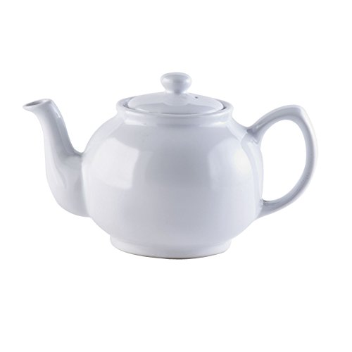 Price & Kensington White 6 Cup Teapot