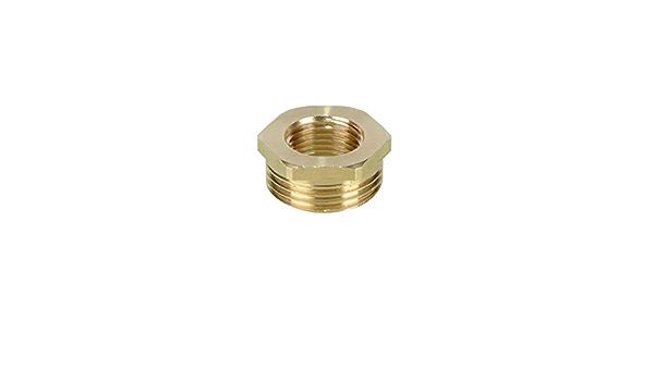 Xucus 2pcs 1//8 1//4 3//8 1//2 3//4 1 BSP M5 Male Brass Cylinder Pneumatic Silencer Muffler Thread Specification: 3//4