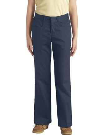 Dickies KP569DN Girls Stretch Boot Pants 7-20 12 Rg