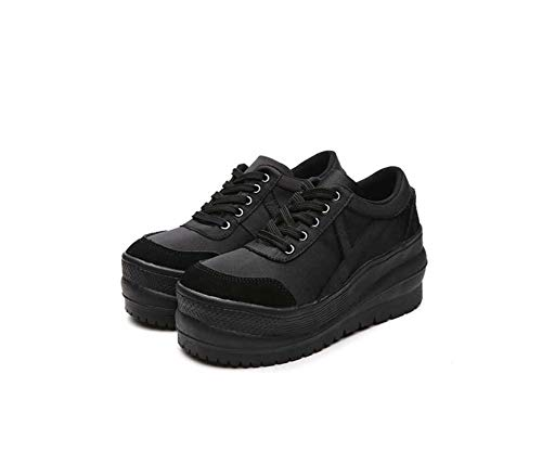 Walking Wedges Oxfords Sport Shoes Women's b Toe Shoes Round Heel DANDANJIE Fall Comfort Shoes RwZqcF0