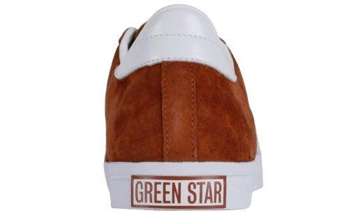 newest collection fac28 c1c2d Adidas da Uomo, Pelle Scamosciata, Greenstar 663829 UK 8.5 EUR 42 23  Amazon.it Sport e tempo libero
