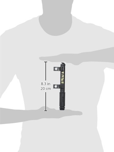 Barbieri Nero Pompa per Bicicletta Schwarz - Schwarz