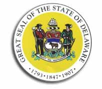Flagline Delaware - State Seal Sticker