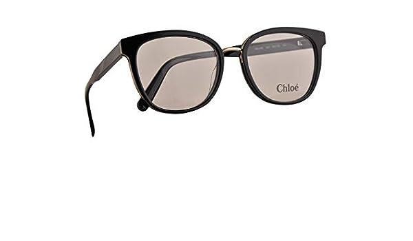 Chloe CE2709 Gafas 53-18-140 Negras Con Lentes De Muestra 001 CE 2709: Amazon.es: Ropa y accesorios
