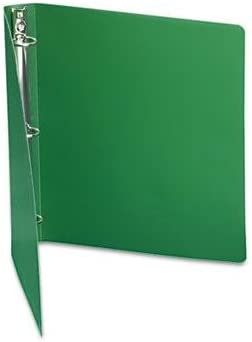 6 Pack Accohide Poly Ring Binder With 35-Pt Binders /& Binding Systems//Binders Cover 1 Capacity Forest Green Product Category