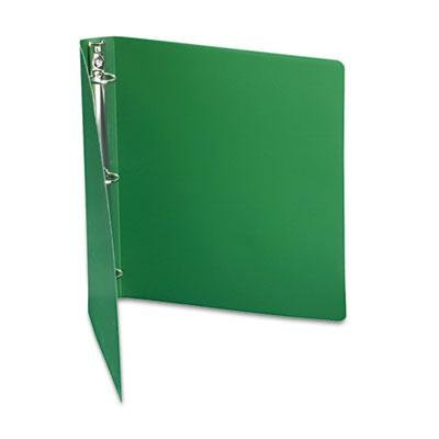 6 Pack - Accohide Poly Ring Binder With 35-Pt. Cover 1'' Capacity Forest Green ''Product Category: Binders & Binding Systems/Binders''