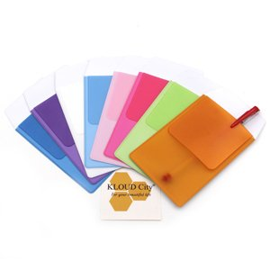 KLOUD City Assorted Colors Pocket Protector for Pen Leaks (8pcs different color) by KLOUD City (Image #2)