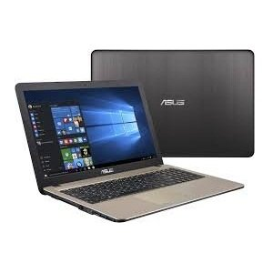 Asus X541Na-Go121T 15.6-Inch Laptop (Pentium Quad Core N4200 Cpu / 4Gb Ram / 1Tb Hdd / Win10/), Black