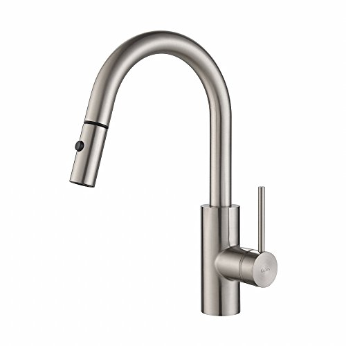 Kraus KPF-2620SS Modern Oletto Single Lever Pull Down Kitchen Faucet,...