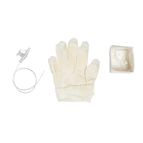 MediChoice Suction Catheter Kits, w/Gloves and Solution Container, Sterile, DeLee Tip 6 French, 16 Inch, Polyvinyl Chloride, Pediatric, 1314RSC06KD (Case of - Catheter Delee Suction