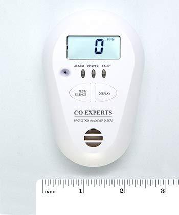 CO Experts Low Level Carbon Monoxide Monitor