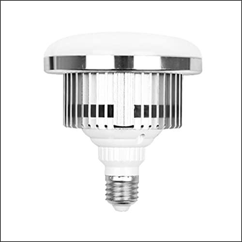E27 85W Glühbirne LED Video Licht 2700-6400K Einstellbar mit Fernbedienung Studio Licht Energiesparend 20000 Stunden Lebensdauer Beleuchtung für Produktfotografie Fotostudio,Softbox Zubehör(2 Pack)