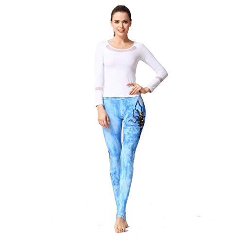 Esecuzione A Print Matita Leggings Donne Vita Classiche Aperta Pantaloni Elastico Sport Yoga All'aria Ladies 3d Allenamento Fitness In Fashion AxwFOqfx