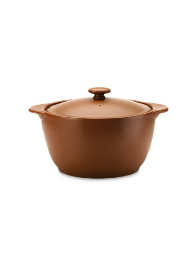 Noritake 8092 714 Colorwave Covered Casserole, 2-Quart, Terra Cotta ()