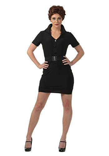 Grease Plus Size Rizzo Costume 1X Black