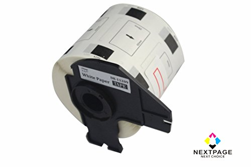 Nextpage DK-1209 small address label compatible for Brother DK-1209(1.1 in x 2.4 in) with one cartridge use with QL-710W, QL-720NW, QL-1050
