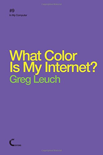 What Color Is My Internet? pdf