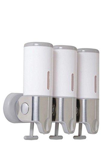 Montado en la pared Singl Set de champú jabón Gel dispensador para baño cocina mercado Hotel