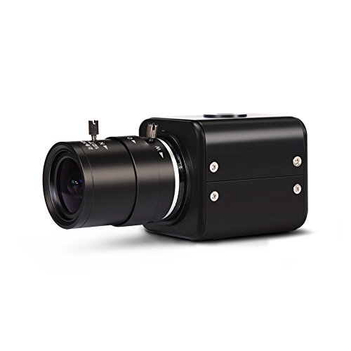 MOKOSE HDMI Camera, HD 2 MP 1080P HD Digital Security Camera, Industry Digital C-mount Camera With 2.8-12mm Varifocal HD Lens, OSD Menu