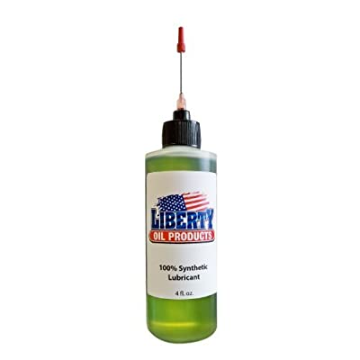 Liberty Oil, 4oz Bottle of the Best 100% Synthetic Oil for Lubricating R/C Radio Controlled Cars and All Types of Vehicles. Does Not Evaporate and Cause Build up on Gears and Moving Parts!!!: Toys & Games