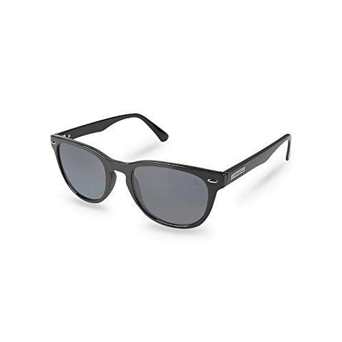 Eddie Bauer Unisex-Adult Langley Polarized Sunglasses, Black - Eddie Sunglasses Bauer Womens