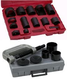 Ball Joint U Joint C Frame Press Service Set Forged Clamp 21pc 4WD Truck Car
