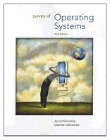 Survey of Operating Systems, 3rd Edition Front Cover