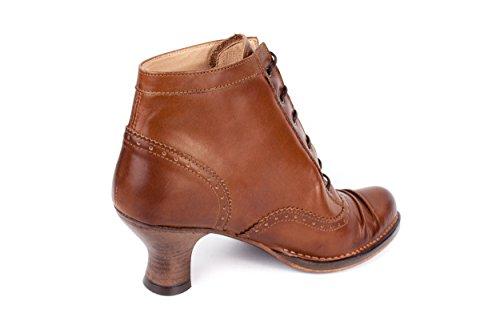 Neosens - Botas de Piel Lisa para mujer marrón marrón 37