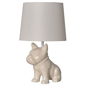 - Bulldog Table Lamp White - PillowfortTM