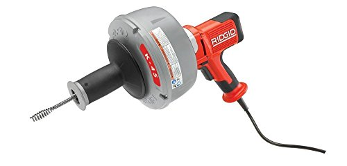 Ridgid 35998 K-45-A Sink Drain Cleaner with Auto Feed and C-6429 Carrying Case by Ridgid