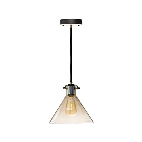 Finesse Decor PL-720 Single Cone Shaped Cognac Light