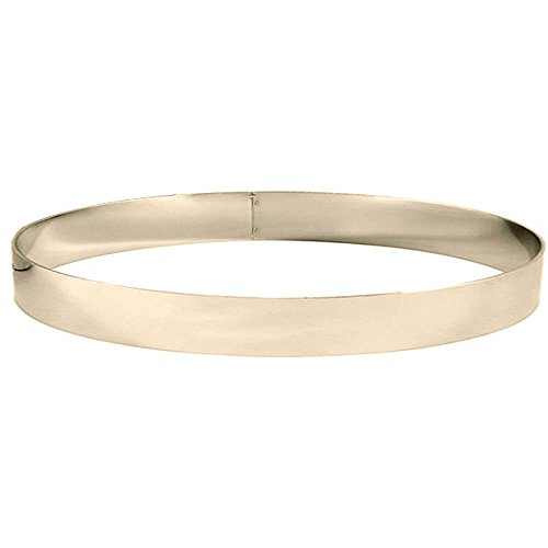 Matfer Bourgeat 371412 Mousse Ring, Silver