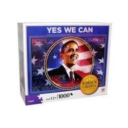 Milton Bradley Hasbro - Milton Bradley Barack Obama Commemorative Puzzle