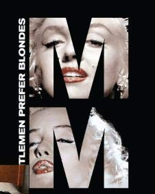 Marilyn Monroe Block Twin Size Blanket Throw