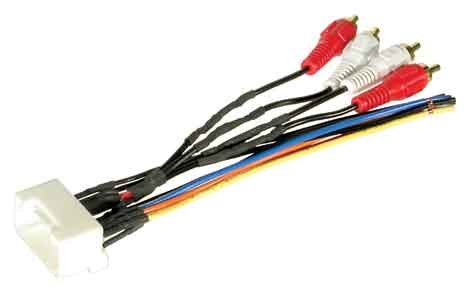 31B9Ox6oYrL amazon com jbl stereo wire harness toyota camry 2002 2003 2004 jbl wiring harness at highcare.asia