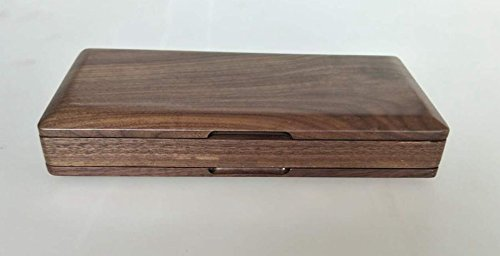 Xuan Oboe Reed Case for 40 Reeds Walnut Wooden Box