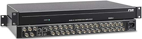 FSR RGB-6 Video Distribution Amplifier