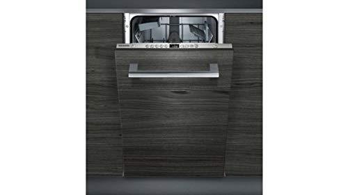 Siemens iQ300 SR635X04IE lavavajilla Totalmente integrado 9 cubiertos A++ - Lavavajillas (Totalmente integrado, Estrecho (45 cm), Acero inoxidable, ...
