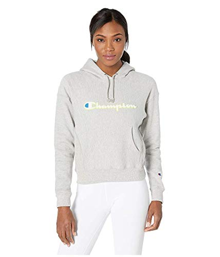 Champion LIFE Women's Reverse Weave Pullover Hood, Oxford Gray 2XL ()
