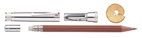 FABER-CASTELL Earl collection Perfect Pencil Sterling Silver Brown 118 566 (566 Collection)