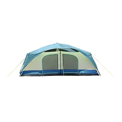 Texsport Blue Mountain Two-Room Cabin Dome Tent