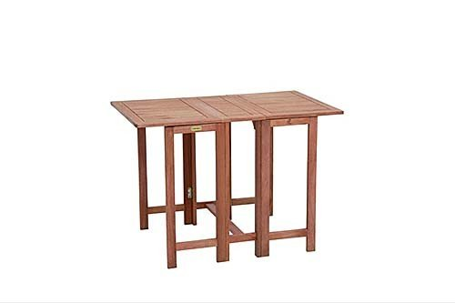 Diverse FSC-Holz Garten-Doppelklapptisch
